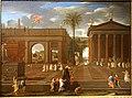 Mercury and Herse, by Thomas Blanchet, 1650, oil on canvas - Portland Art Museum - Portland, Oregon - DSC08920.jpg