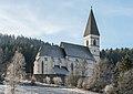 Metnitz Grades Filial- und Wallfahrtskirche hl Wolfgang NO-Ansicht 21122016 4685.jpg