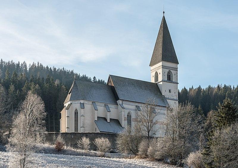 File:Metnitz Grades Filial- und Wallfahrtskirche hl Wolfgang NO-Ansicht 21122016 4685.jpg
