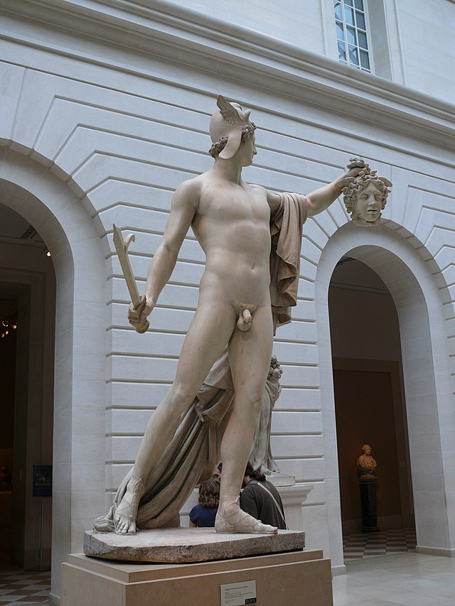 Perseus With The Head Of Medusa Wikiwand