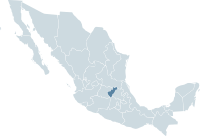 Mexico map, MX-QUE.svg