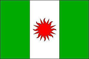 Meziboří - Image: Meziboří vlajka