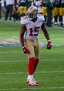 Description de l'image Michael Crabtree - San Francisco vs Green Bay 2012.jpg.