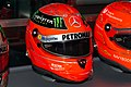 Michael Schumacher 2012 Brazilian GP helmet front-right1 2019 Michael Schumacher Private Collection.jpg