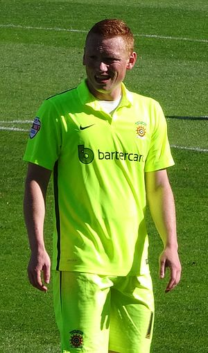 Michael Woods (footballer) - Woods playing for Hartlepool United in 2015