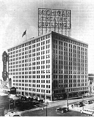 Cowork at The Michigan - Image: Michigan Theater Building