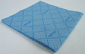 Microfiber - Microfiber cloth suitable for cleaning sensitive surfaces