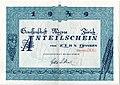 Migros Zürich Anteilschein 1949.jpg