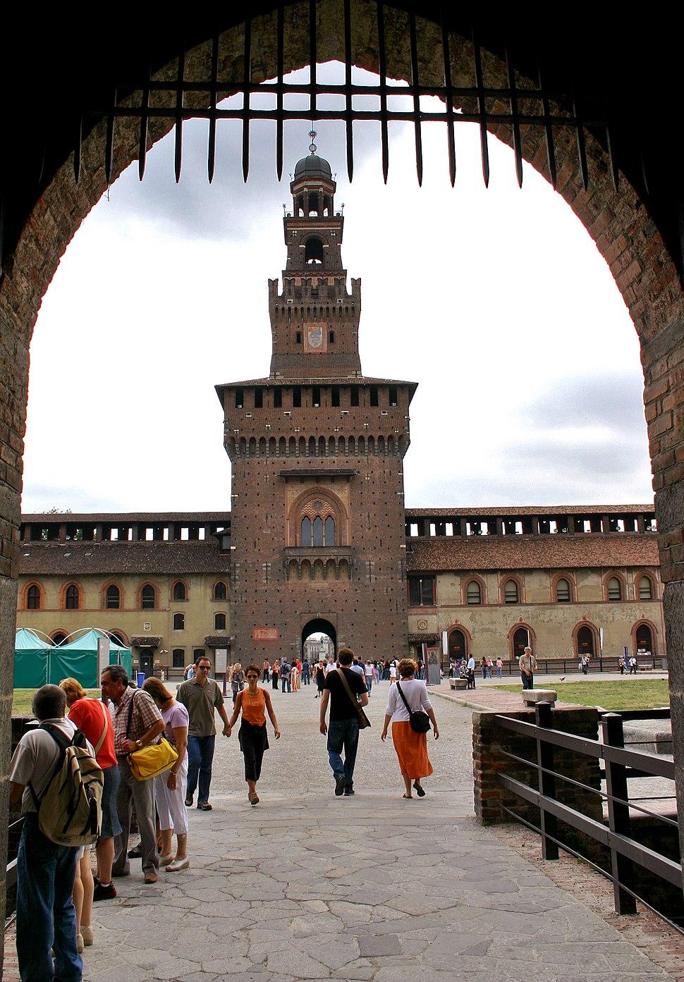 Milano-castello sforzesco