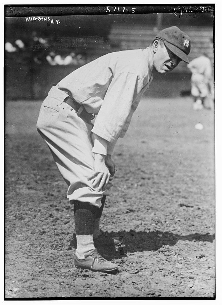 Miller Huggins, manager, New York AL (baseball)