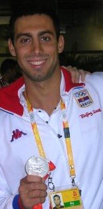 Awards of Olympic Committee of Serbia - Milorad Čavić won the award three times