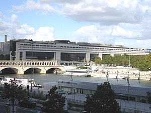 French Ministry for the Economy and Finance - The seat of the Ministry of Finance at Bercy in Paris