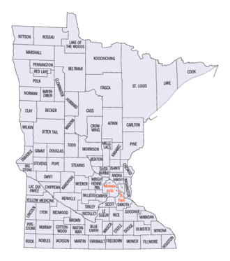 National Register of Historic Places listings in Minnesota - Minnesota counties