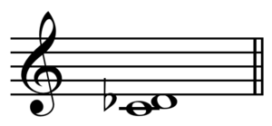 Flat (music)