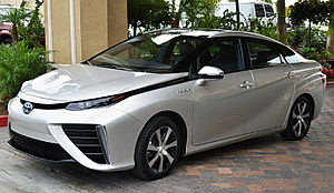 Fuel cell vehicle - Image: Mirai trimmed