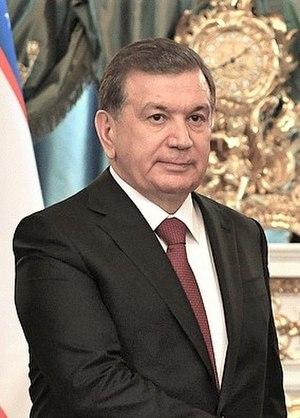 Shavkat Mirziyoyev - Image: Mirziyoyev cropped