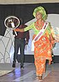 Miss Agbarho Beauty Contest - Contestants Traditional Dance - Urhobo Tribe - Agbarho - Delta State - Nigeria - 01.jpg