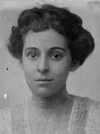 Virginia Brooks - Brooks in 1909 or 1910