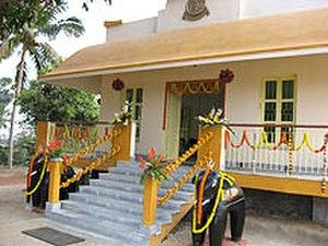 Purba Bardhaman district - Ram Krishna Mission temple at Shillya