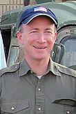 Mitch Daniels at Camp Arifjan, Kuwait, April 16, 2006.jpg