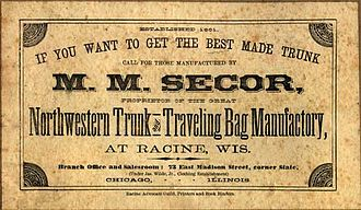 Martin Mathias Secor - An M. M. Secor Company label