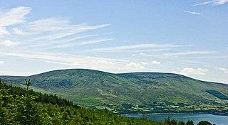 Moanbane Mountain in Wicklow, Ireland