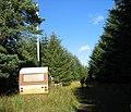 Mobile telephone mast and lone caravan. - geograph.org.uk - 271109.jpg