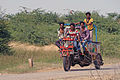 Mode of transport in villages of India.jpg