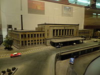 Model of Ueno Station at the Railway Museum.jpg