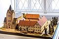 Modell des Klosters Ringelheim Ende 16 Jahrhundert (Museum Salder).jpg
