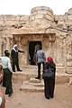 Mohammed Shaek, center, guides a tour for Afghan men visiting the Cave of the Seven Sleepers in Amman, Jordan, April 21, 2011 110421-M-GW940-076.jpg