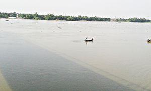 Mahananda River - Image: Mohanonda river (মহানন্দা নদী)