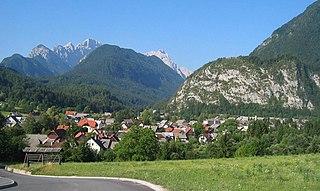 Mojstrana Place in Upper Carniola, Slovenia