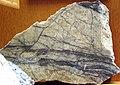 Molybdenite-quartz hydrothermal veins (Mount Emmons Molybdenum Deposit, Early Miocene, 17-18 Ma; Keystone Mine, west of Crested Butte, Colorado, USA) 2.jpg