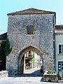 Monpazier - Porte Saint-Jacques - Foirail Nord.JPG