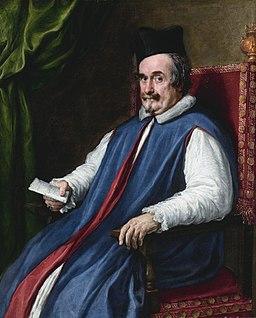 Monsignor Cristoforo Segni, by Diego Rodríguez de Silva y Velázquez and Pietro Martire Neri