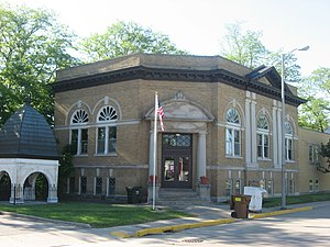 The Monticello Carnegie Library