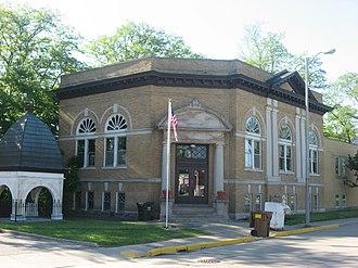 Monticello, Indiana - The Monticello Carnegie Library