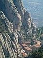 Montserrat. Vistas del monasterio, desde lo alto - Guadalupe Cervilla.jpg