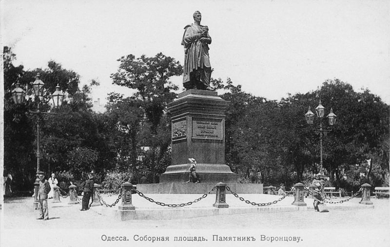 File:Monument of Vorontsov in Odessa.jpg