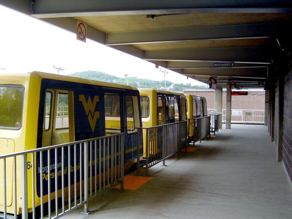 Morgantown PRT - Beechurst Station