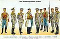 Moritz Ruhl - Montenegrinische Armee 1914 - Paradeuniformen.jpg