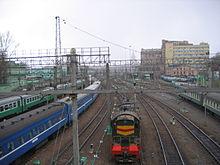 Строительство современного Казанского вокзала началось в 1913 г. и продолжалось до 1940 г. (архитекторы А. В. Щусев...