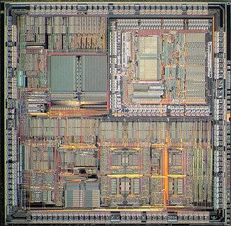 Freescale 683XX - Motorola MC68302 die