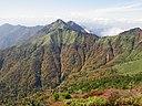 Mount Ninomori from Mount Ishizuchi 2011-10-18.jpg