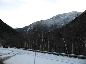 Mount Willey - Mount Willey from Crawford Notch looking south