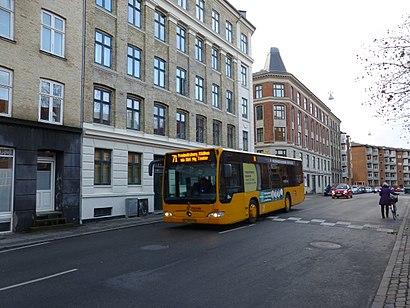 Sådan kommer du til Howitzvej med offentlig transport – Om stedet