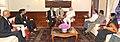 Mr. Bill Gates and Mrs. Melinda Gates calling on the Prime Minister, Shri Narendra Modi, in New Delhi on September 19, 2014 (1).jpg