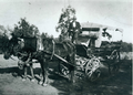 Mr Boek, bus driver with one of the first horse drawn buses (19570225005).png