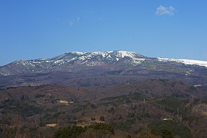 Mount Kusatsu-Shirane - Viewed from the SE.
